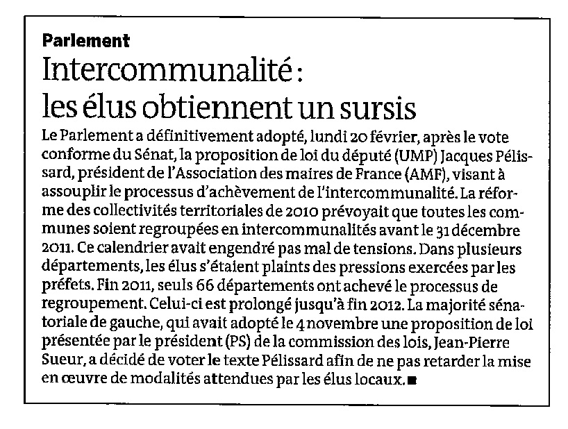 120222_LeMonde_intercommunalite