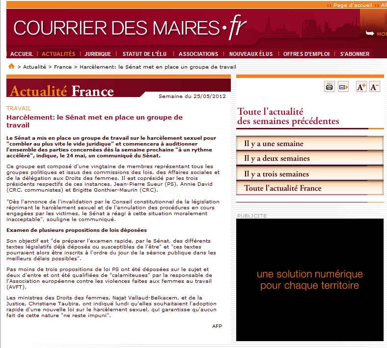 120525_CourrierDesMaires_harcelement