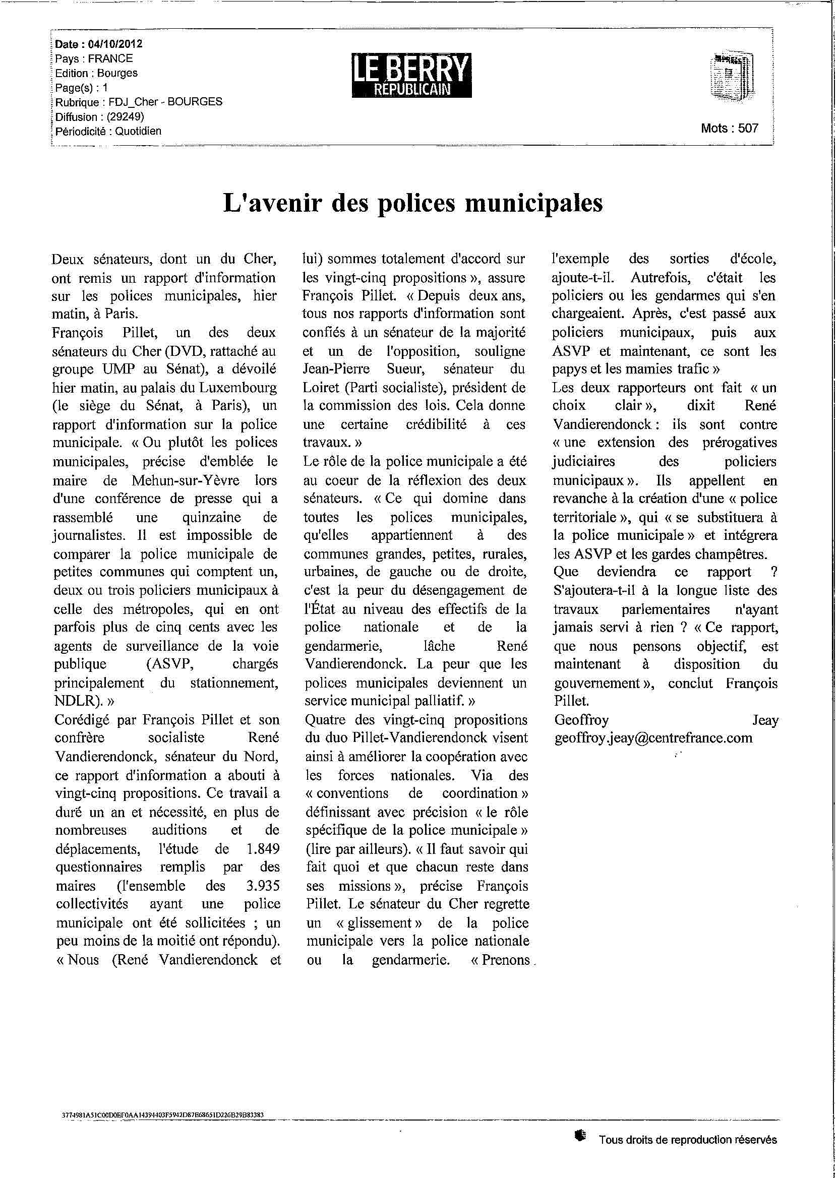 121004_Berry-republicain_polices-municipales