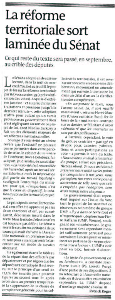 100709_LeMonde_reformeterritoriale